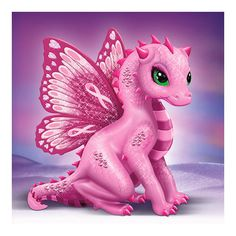 The Hamilton Collection Breast Cancer Support Artistic Dragon Figurine: On Wings Of Hope at Sears.com