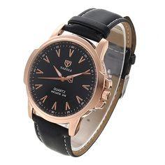 #Spring #AdoreWe #BangGood - #YAZOLE YAZOLE 346 Fashion Men Quartz Watch Casual Leather Strap Watch - AdoreWe.com