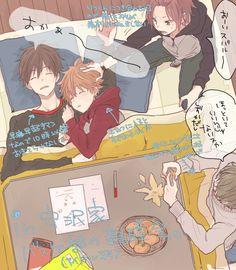 Cute Anime Boy, Ensemble Stars, Manga Comics, Sketches, Fan Art, Drawings, Illustration, Pictures, Photos