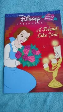 Disney princess book with scented stickers $5.00