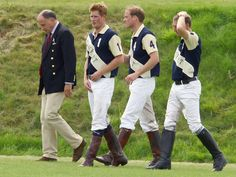 Prince William - Prince William and Prince Harry play polo