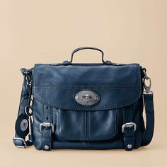 If it looks like a man's briefcase, I will like it. Also if it's anything blue. Fossil Maddox Small Workbag