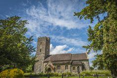 All saints Church Huntsham Village  - Huntsham Court