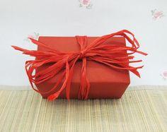 Soft Fine Rayon Raffia Vibrant Red