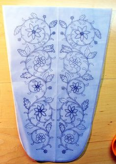 embroidered stomacher | Stomacher embroidery pattern by Velven