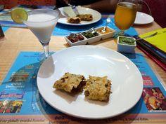 Stuffed Prawn Papad -  Goa Portuguesa Restobar