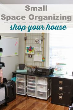 simply organized: Don't Forget To Shop Your House First