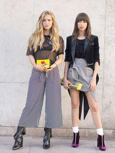 Street Style Accessories at Paris Fashion Week Spring 2017 | POPSUGAR Fashion