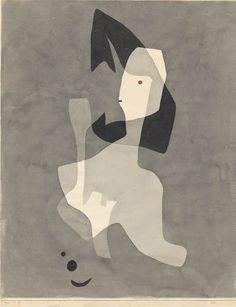 Paul Klee, Gift, 1932, 13, Aquarell und Bleistift auf Papier auf Karton, 61,3 x 48,6 cm, Zentrum Paul Klee, Bern,