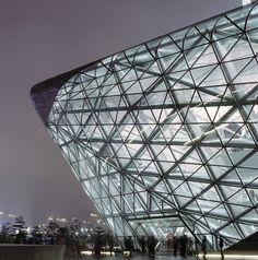 Guangzhou Opera House Opens — Architect Zaha Hadid's Unconventional Design Comes…