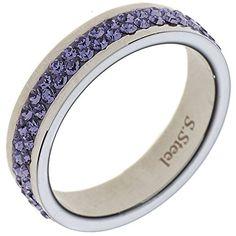 """Dreambase Damen-Ring """"Swarovski"""" Edelstahl 54 (17.2) Drea... https://www.amazon.de/dp/B00N5BJ2KK/?m=A37R2BYHN7XPNV"""