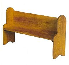 how to: church pew