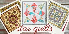 27 Free Star Quilt Patterns: Free Block Designs and Quilt Ideas