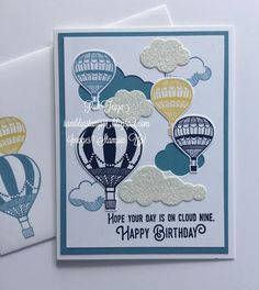 Hi Stampers, I spent some time this week playing with another of my favorites from the new Occasions Catalog, the Lift Me Up Bundle. This...