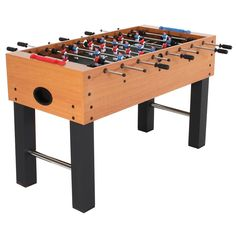 Gamepower GMTHY Deluxe Soccer Table Sports Foosbal Or - Gamepower foosball table
