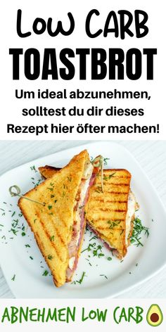 Dieses Toastbrot ist perfekt um am morgen sich schon extrem gesund zu ernähren. This toast bread is perfect for eating extremely healthy in the morning. So you will reach your goals much faster! Easy Soup Recipes, Low Carb Recipes, Healthy Recipes, Dinner Recipes, Quick And Easy Soup, Eating Plans, Keto Snacks, Calorie Diet, Low Carb Keto