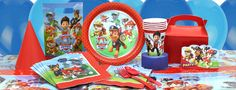 Paw Patrol Party Supplies | partiesrus.co.uk