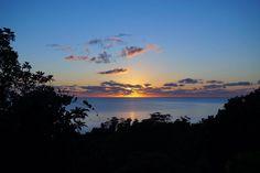 Sunrise over the Coral Sea! www.trinitybeachfront.com.au for Trinity beach Accommodation.