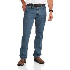 Faded Glory Big Men's Original Fit Jean, Size: 46 x 32, Gray