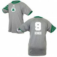 Celtics Youth Rajon Rondo S S Gametime Shooter ages 6-12 Celtics Apparel c385164f2
