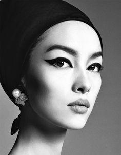 lelaid: Fei Fei Sun in Fei Fei for Vogue Italia January .- lelaid: Fei Fei Sun in Fei Fei for Vogue Italia January… lelaid: Fei Fei Sun in Fei Fei for Vogue Italia January … - Steven Meisel, Richard Avedon, Fei Fei Sun, Beauty Makeup, Eye Makeup, Hair Beauty, Makeup Tips, Vogue Makeup, Makeup Trends
