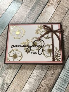 Welcome to my new blog feature, My Weekly Wednesday Wow!! I am part of a swap group and I want to share with you some wonderful cards and t...