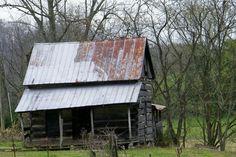 old house in Bugger Holler, Tn