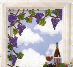 Grape Window Corner