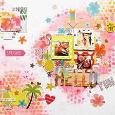 hello+summer+by+Sajcia - Scrapbook.com