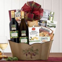 Wine Gift Baskets - Thank You Wine Gift Basket Wine Country Gift Baskets, Wine Baskets, Chocolate Hazelnut, Chocolate Truffles, Double Delight, Congratulations Gift, Wafer Cookies, Sticky Toffee, Valentine Treats