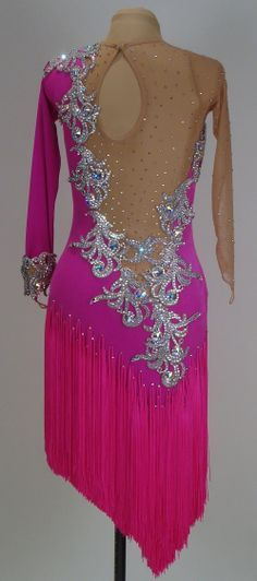 FRINGE Electric pink dress - Szukaj w Google