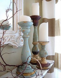 Want to do a DIY of these with chalk paint. Beach house coastal home decor