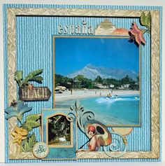 A Tropical Travelogue LO Spain! Graphic 45