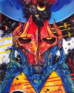 Philippe Druillet, commission for Star Wars