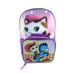 Preschool girls will adore taking this Sheriff Callie's ild West backpack that come with an attachable lunch box.