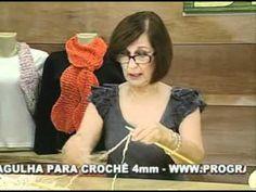 ARTE BRASIL -- CLAUDIA MARIA -- PASHMINA ETNA EM TRICÔ (12/05/2011 - Parte 1 de 2)