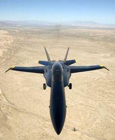 F/A-18A Hornet.  Blue Angel.