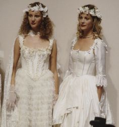 90s Fashion, Runway Fashion, High Fashion, Fashion Show, Vintage Fashion, Fashion Design, Boho Wedding Dress, Wedding Dresses, Lace Wedding