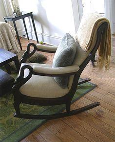 Fabulous 12 Best Gooseneck Rocker Images Rocking Chair Metal Ibusinesslaw Wood Chair Design Ideas Ibusinesslaworg