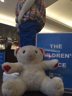 Found on 08/05/2015 @ Kildonan Place, 1555 Regent Ave W., Winnipeg MB. This guy was found in Kildonan Place Shopping Centre on May 5 - he can be claimed at mall Guest Services. Visit: https://whiteboomerang.com/lostteddy/msg/w1c1fu (Posted by Corey on 08/05/2015)