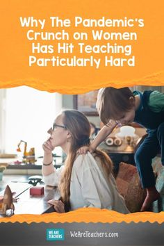 The pandemic's crunch on women will hit teaching particulary hard, and unreliable childcare is a big reason why. Your Teacher, School Teacher, Student Teaching, Teaching Kids, Michael Hansen, Missing Work, Need A Job, Second Job, Changing Jobs