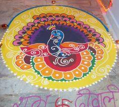 Entry by Namita Jain #Diwali #Rangoli