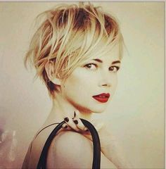 Should I grow my hair out. Cut My Hair, New Hair, Pixie Hairstyles, Cool Hairstyles, Dicker Pony, Short Hair Cuts, Short Hair Styles, Great Hair, Hair Today