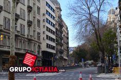 Vía Augusta, Barcelona. Grup Actialia ofrece sus servicios en Barcelona: Diseño web, Diseño gráfico, Imprenta y Rotulación. www.grupoactialia.com