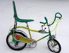 Murray  I had the handle bars on mine. It was a regular with the banna (sp) seat n gold  colored from sears n silsbee tx from my brother clark.I scratched its id number as RC-14 ie royal car -14,my age n not sure how the rc came into play...