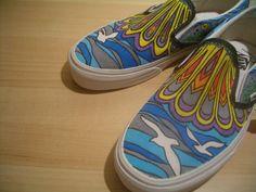 Custom Van Shoes (example). $125.00, via Etsy.