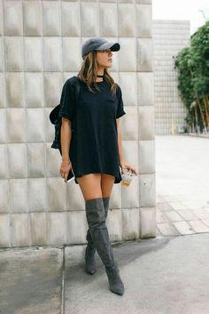 Resultado de imagem para wear thigh high boots