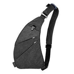 ee8aa101d6bf Sling Bag Shoulder Chest Cross Body Backpack Lightweight Casual Outdoor  Sport Travel Hiking Multipurpose Anti Theft Crossbody Pack Daypack Bag Up  to Inch ...