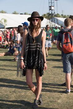 On the grounds of Coachella. [Photo by Katie Jones]