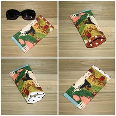 Soft phone case farmhouse case eyeglasses case eyeglass